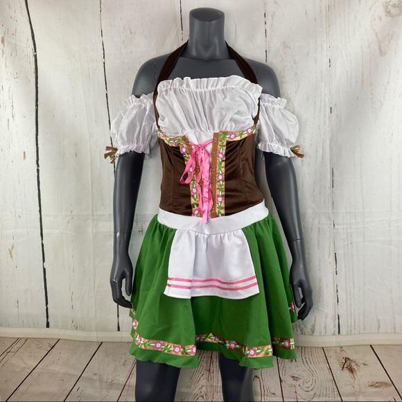 Leg Avenue Dresses & Skirts - Gretchen beer wench Oktoberfest costume